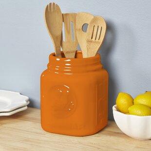 Mason jar kitchen lighting wayfair mason jar utensil holder workwithnaturefo