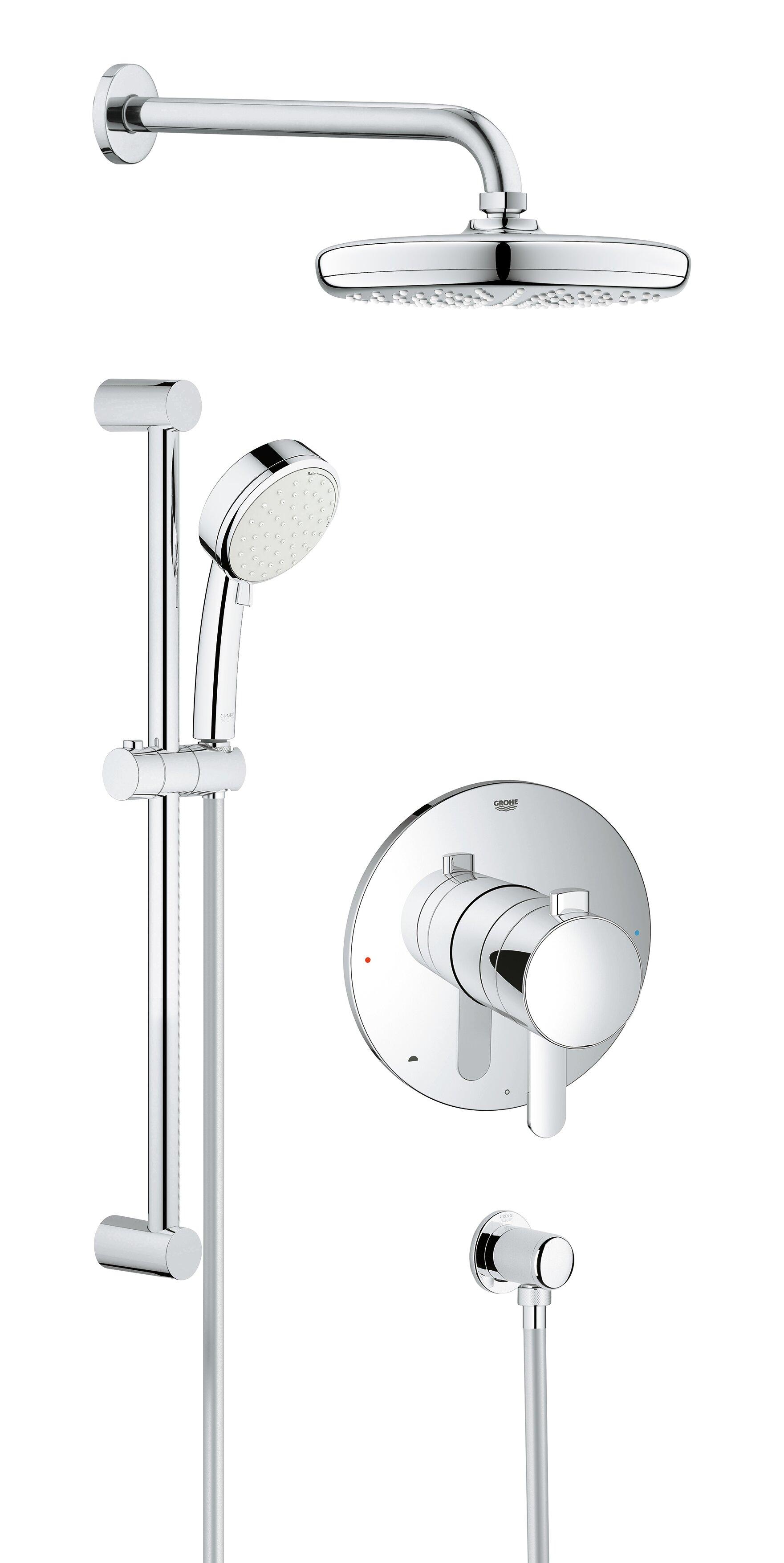 Grohe Cosmopolitan Pressure Balanced Dual Function Adjustable ...