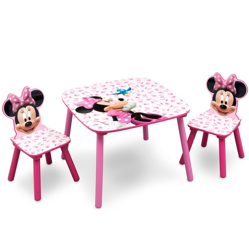deltachildren 3 tlg tisch und stuhl set minnie bewertungen. Black Bedroom Furniture Sets. Home Design Ideas