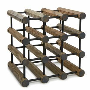 Storage 12 Bottle Tabletop Wine Rack by J.K. Adams