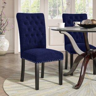 Erling Velvet Side Chair (Set Of 2)