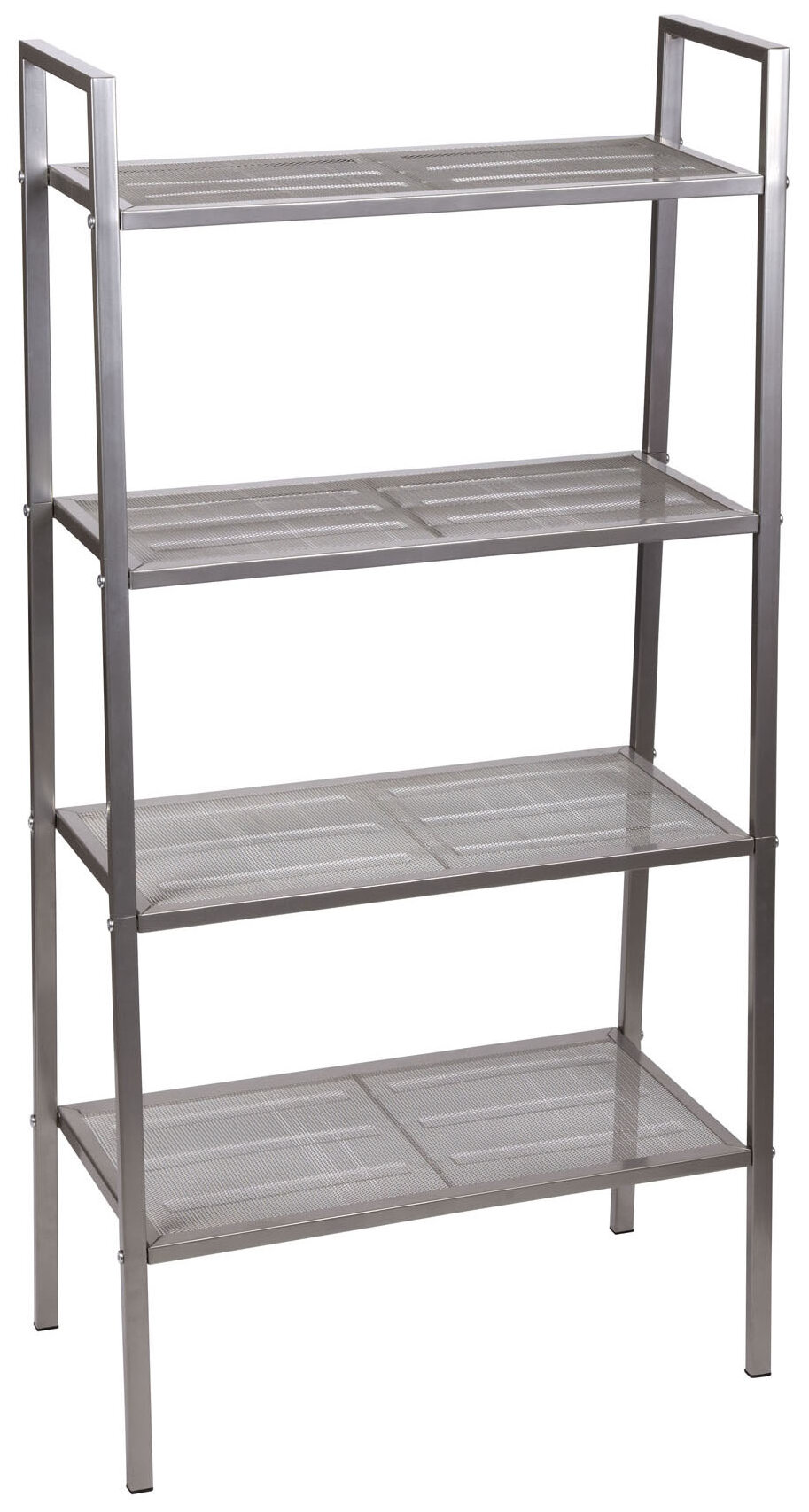 Household Essentials Free Standing Four Shelf Etagere Bookcase U0026 Reviews |  Wayfair