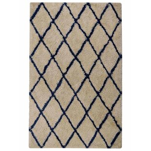 Buying Ry Hand-Tufted White Blue Area Rug By Latitude Run