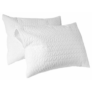 Tailor Fit Peva Waterproof Zippered Pillow Protector (Set of 2) by Perfect Fit Industries