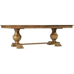 Sanctuary Extendable Trestle Table by Hooker Furniture