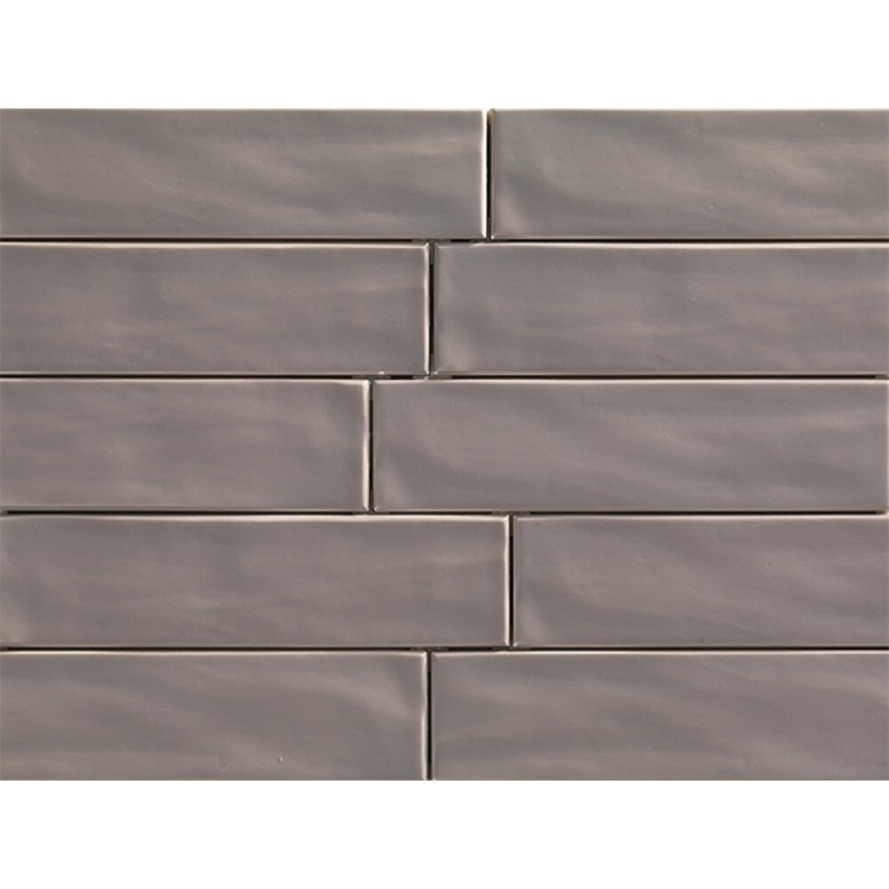 Travistilesales Organic Brick 3 X 12 Porcelain Subway Tile In Teak