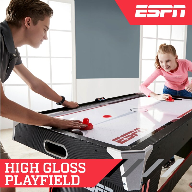 65' Two Player Air Hockey Table with Digital Scoreboard