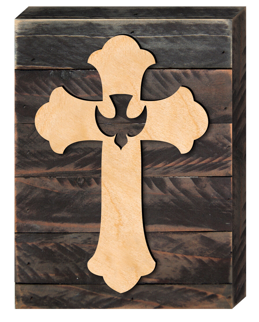 Old Fashioned Decorative Wooden Crosses For Wall Vignette - The Wall ...