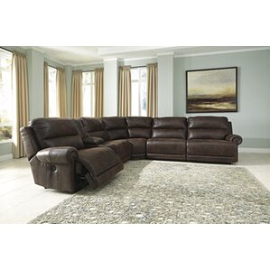Resolution Reclining Sectional by Red Barrel..