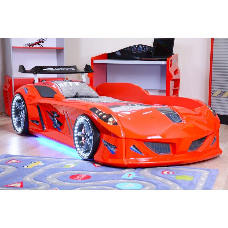 Zoomie Kids Lillian Speedy Boy Race Twin Car Bed Wayfair
