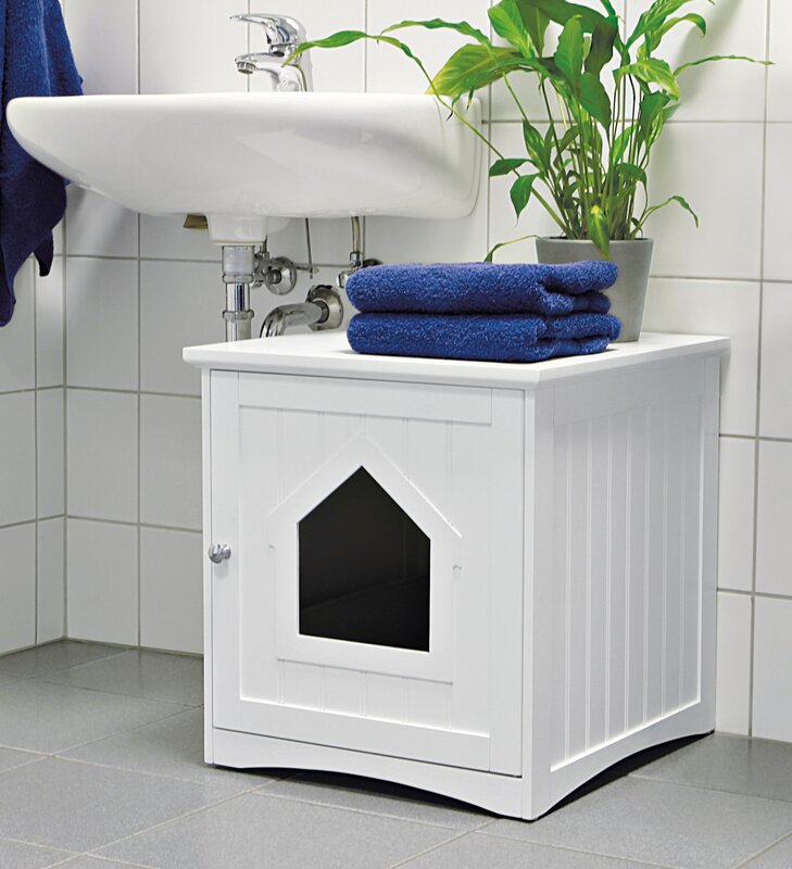 Lovely Cat Home Litter Box