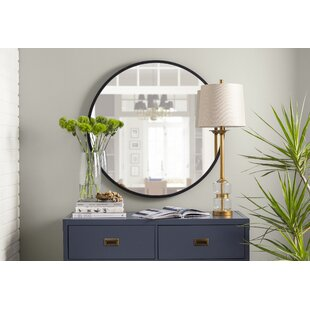 modern large oversized over 32 high round wall mirrors allmodern