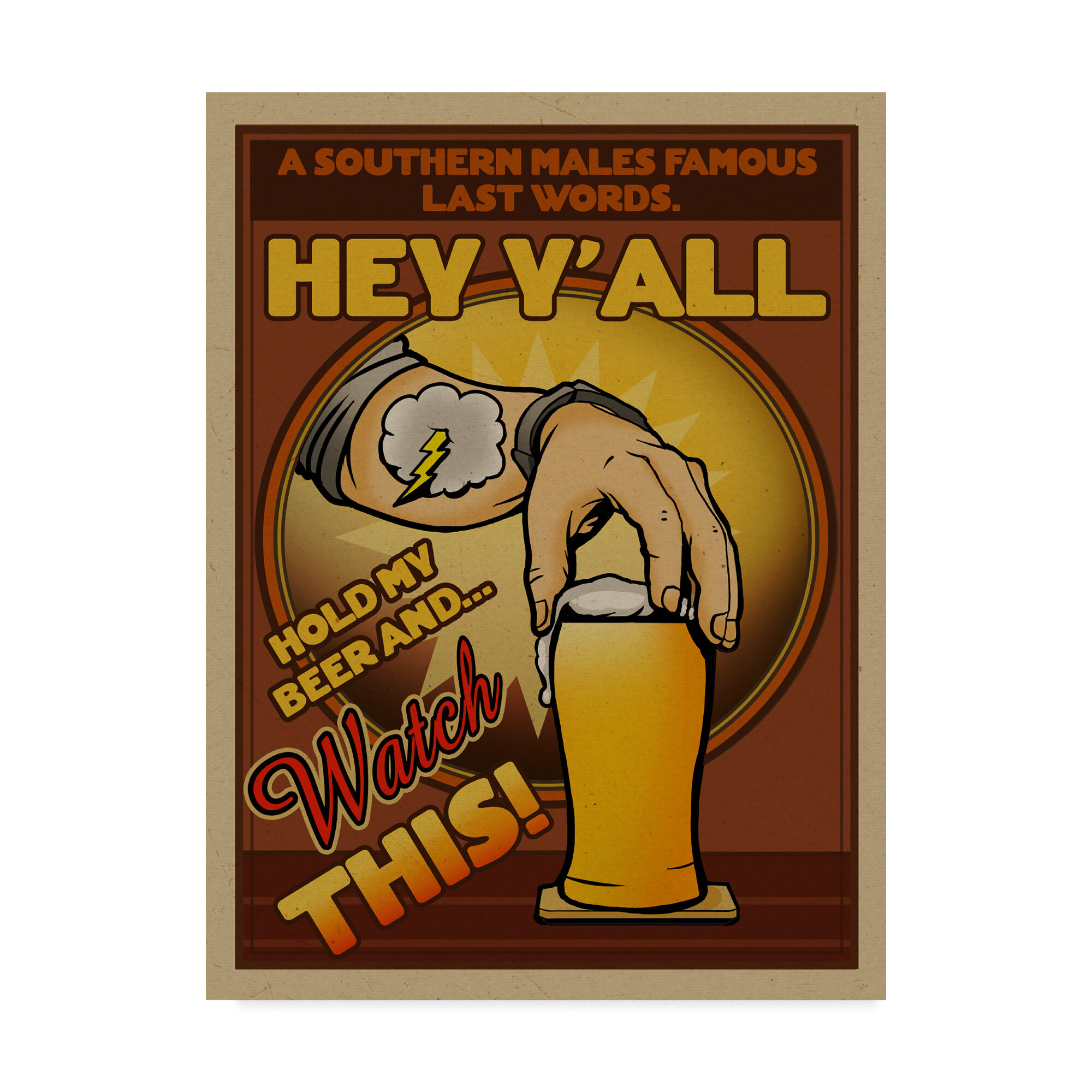 Image result for hey y'all hold my beer