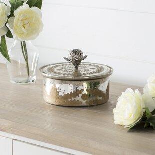 Preferred Mercury Glass Box | Wayfair QH84