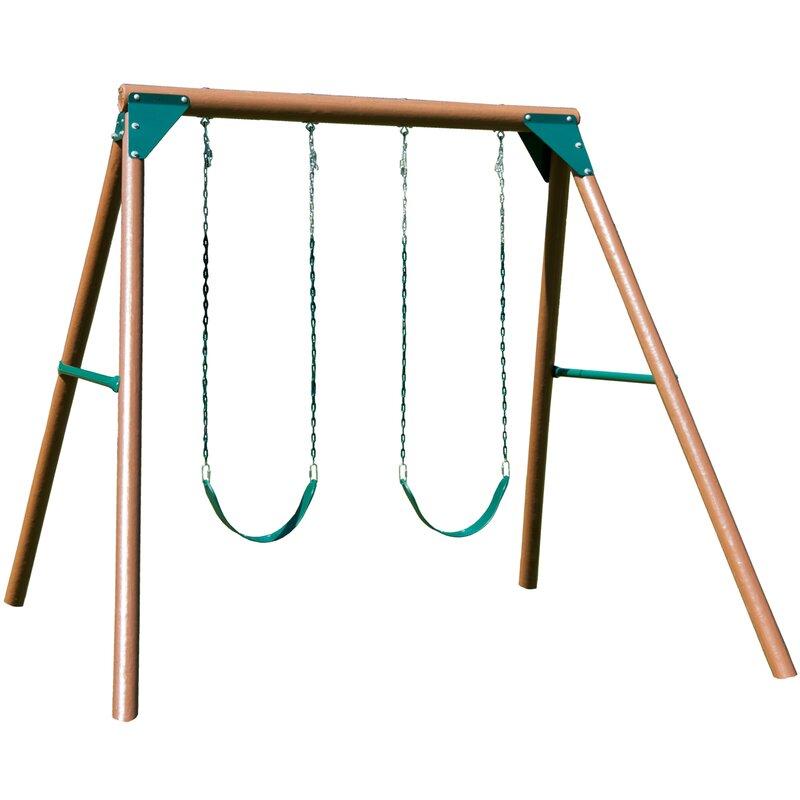 Swing N Slide Equinox Swing Set Amp Reviews Wayfair