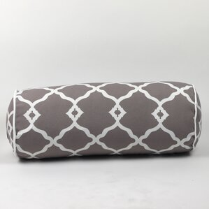 Wilkerson Round Outdoor Piped Edge Bolster Pillow