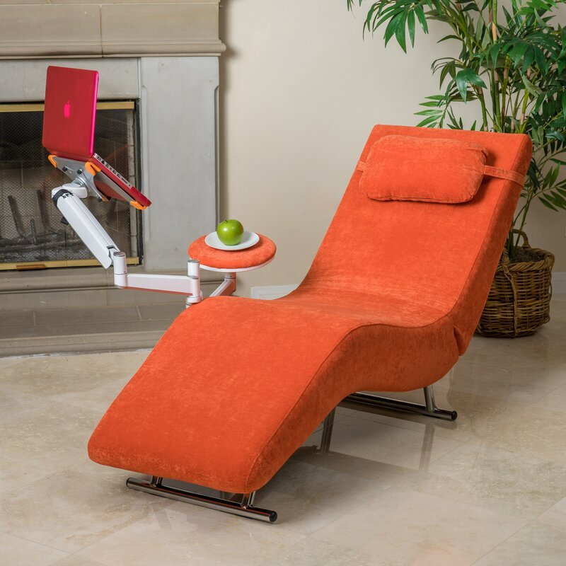 Sophisticate Chaise Lounge : orange chaise lounge - Sectionals, Sofas & Couches