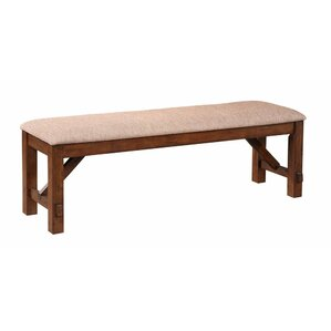 Karven Upholstered Bench by Roundhill Furniture