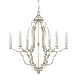 Erroll 6-Light Candle-Style Chandelier