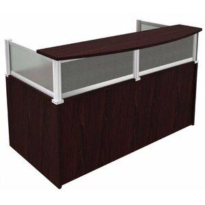 rectangular reception desk - Reception Desks