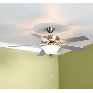 52 Hamlett 3-Light 5-Blade Ceiling Fan