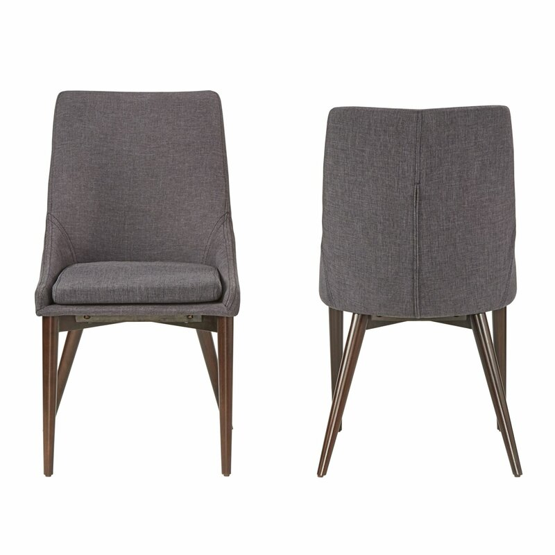 Cleland Parsons Chair  Set of 2. Modern Upholstered Dining Chairs   AllModern