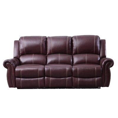 Leather Reclining Loveseats Amp Sofas You Ll Love In 2019