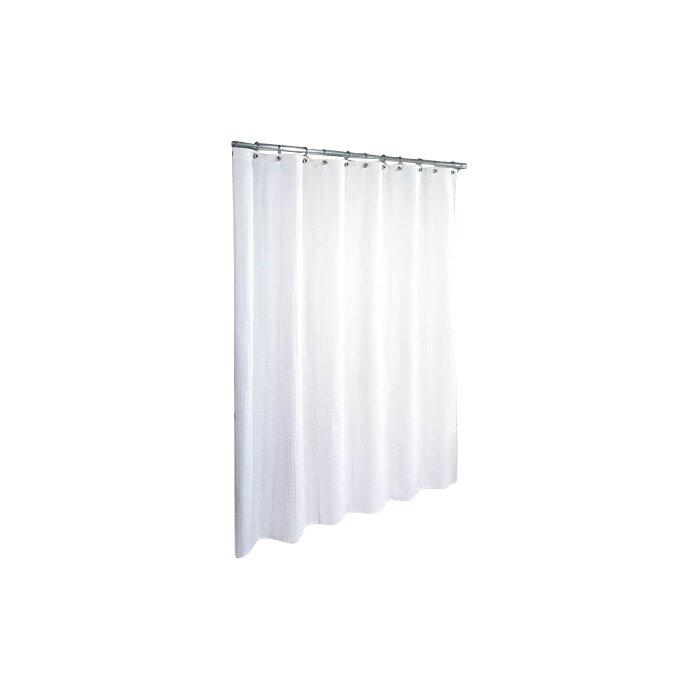 Symple Stuff Cotton Waffle Weave Shower Curtain & Reviews | Wayfair.ca
