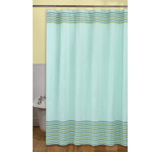 Seersucker Stripe Shower CurtainCotton Blend Shower Curtains You ll Love   Wayfair. Yellow And Teal Shower Curtain. Home Design Ideas