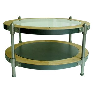 Pembrooke Coffee Table with Magazine Rack by..