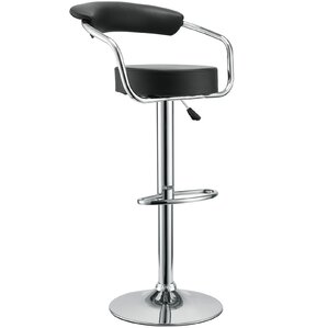 Diner Adjustable Height Swivel Bar Stool (Set of 3) by Modway