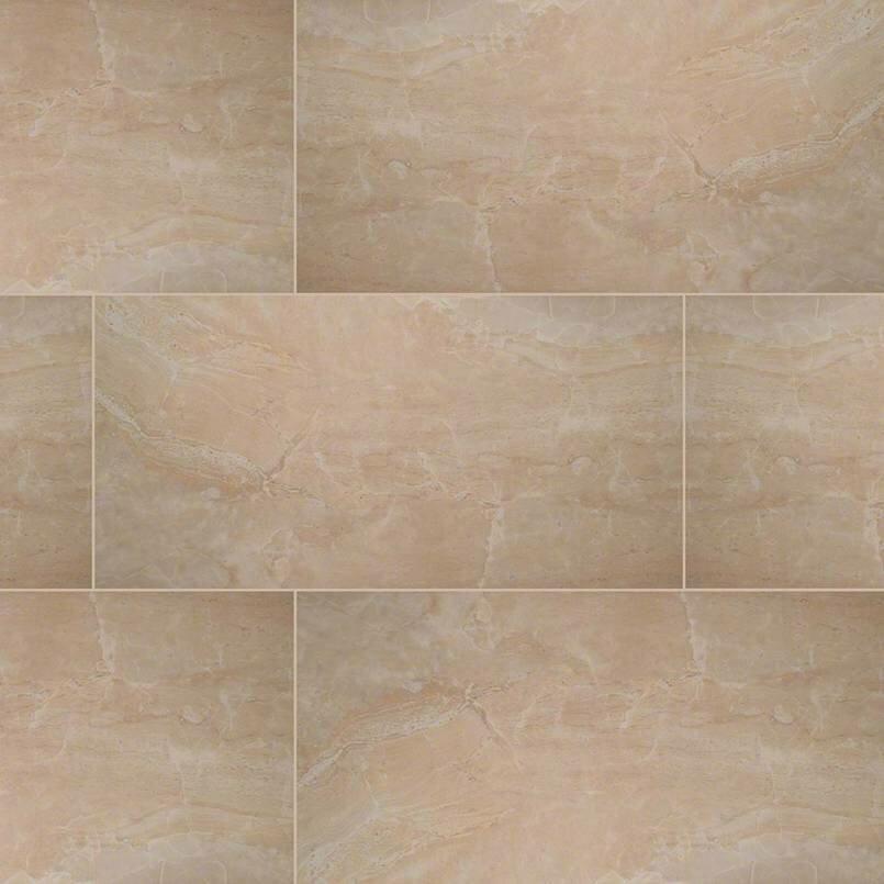 Msi Pietra Onyx 16 X 32 Porcelain Field Tile In Beige Wayfair