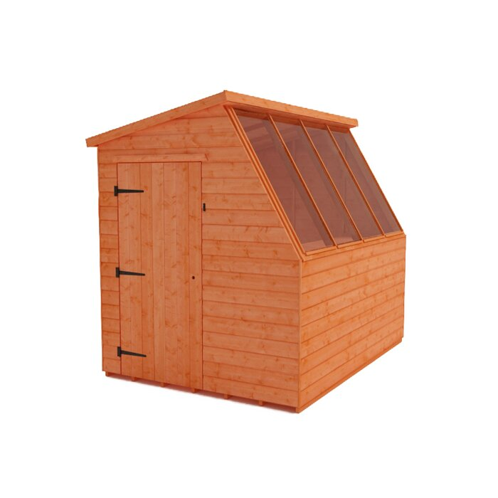 Tiger 8 Ft W X 10 Ft D Shiplap Pent Wooden Shed