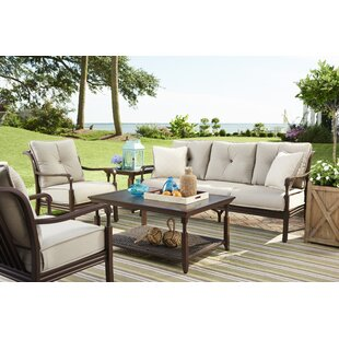 River House Deep Sunbrella Seating Group With Cushions