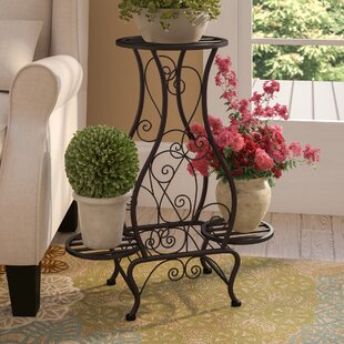 Metal Plant Stands Tables Youll Love Wayfair