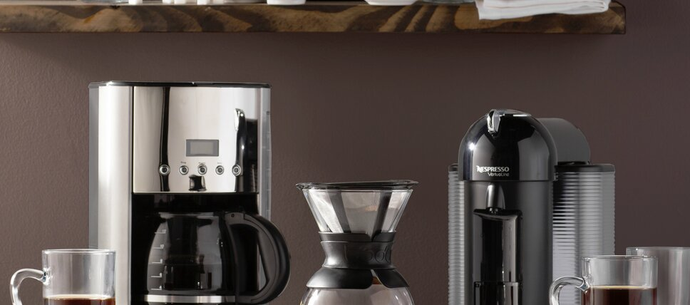 But First: Coffee Makers