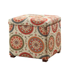 Bischof Fashion Upholstered Storage Cube Ott..
