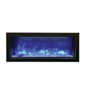 Panorama Series Built-in Wall Mount Electric Fireplace by Amantii