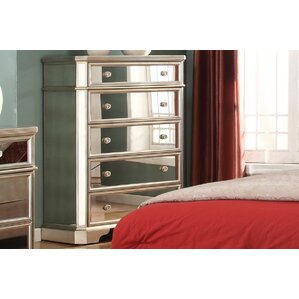 Borghese 5 Drawer Chest by BestMasterFurniture
