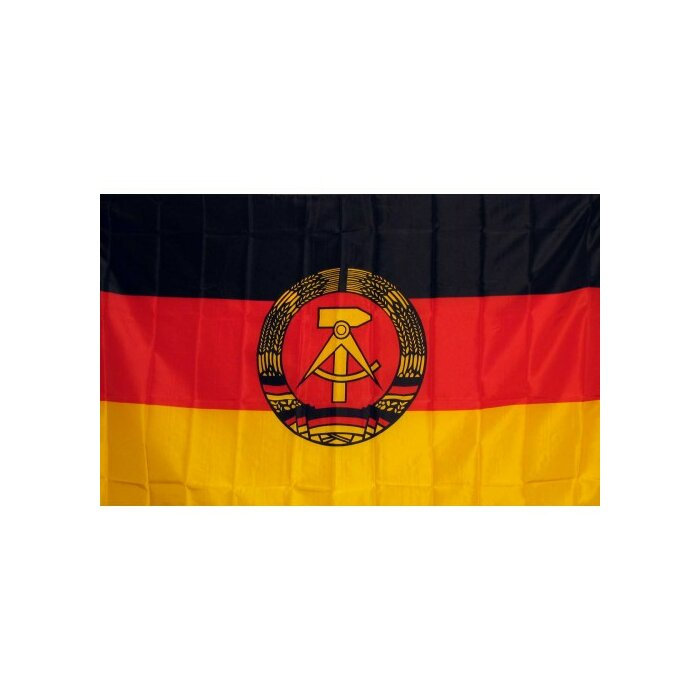 East Germany Traditional Flag