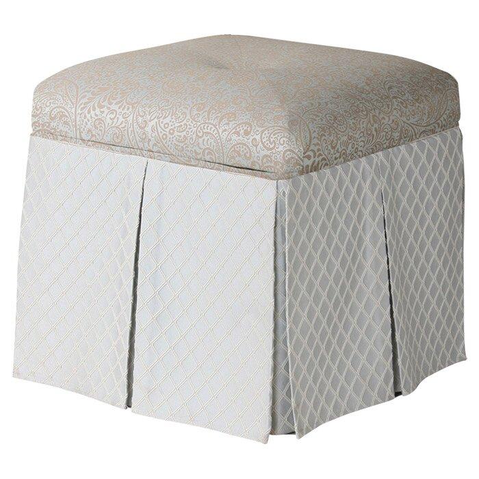 vanity chair with storage. Stacy Square Storage Vanity Stool Jennifer Taylor  Reviews Wayfair