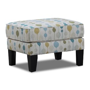 Southdown Simmons Upholstery Ottoman by Bray..