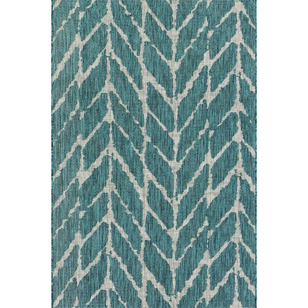 Loloi Rugs Isle Teal Indoor/Outdoor Area Rug U0026 Reviews | Wayfair