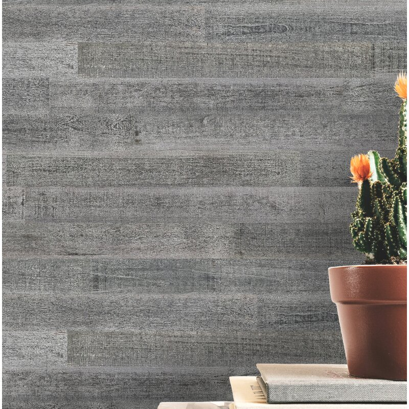 3 Solid Wood Wall Paneling In Gray