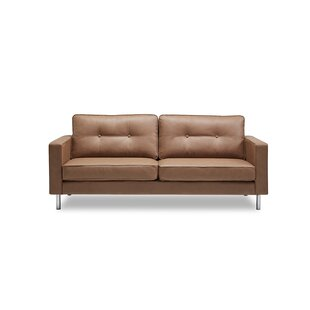 Lianne Modern Solid Print Sofa