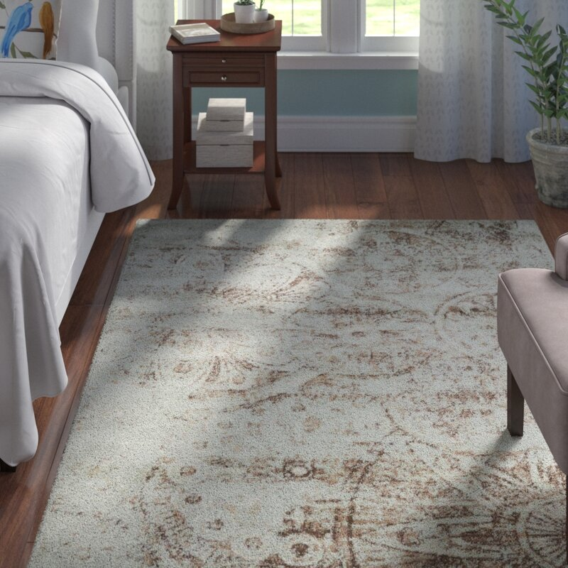 Andover Mills Armand Gray Light Brown Area Rug Amp Reviews