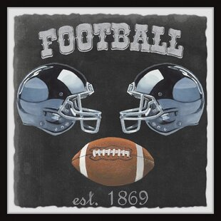 Fricke Football Poster Framed Art by Viv   Rae