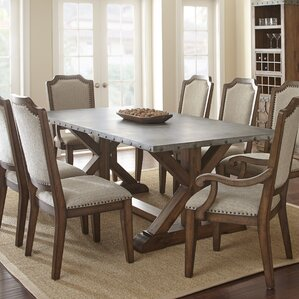 Elzira Rectangular Dining Table by 17 Stories