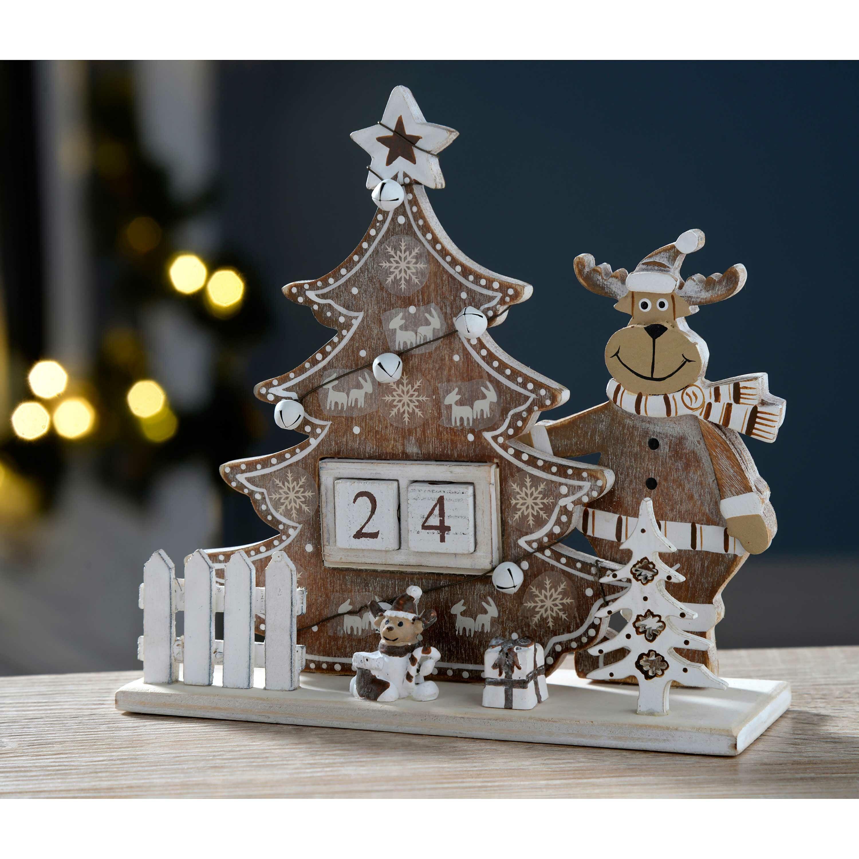 Adventskalender beleuchteter weihnachtsbaum