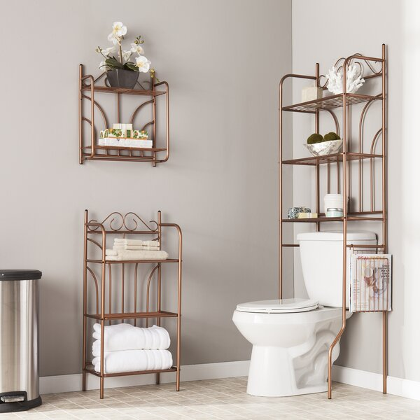 Bathroom Shelving Above Toilet | Wayfair
